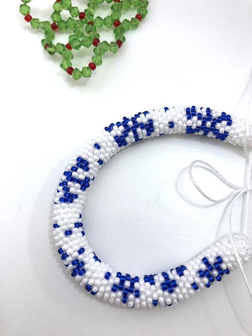 APa113 Armband Schneeflocken