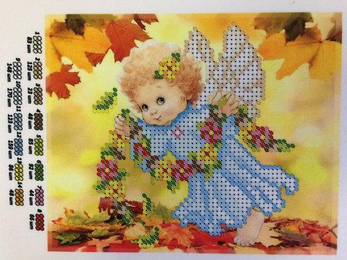AP5103 Engel mit Blumen