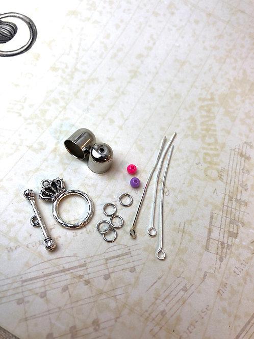 APz01 Zubehör für Armband (silber)