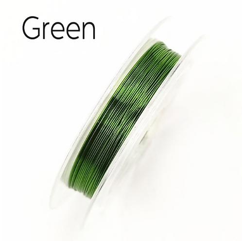 Draht Grün