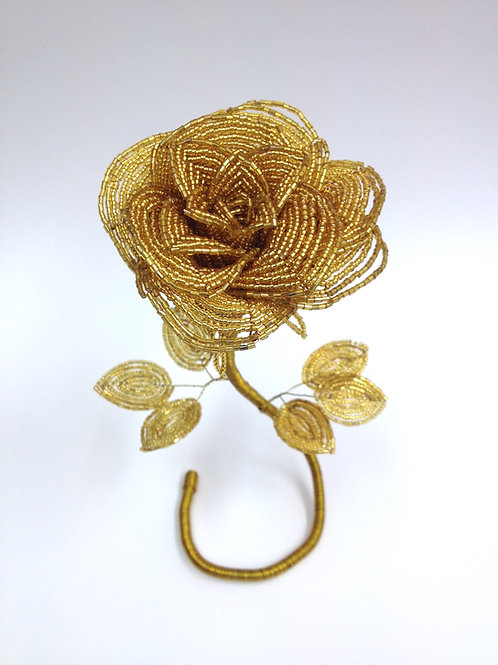 AP0440  Üppige goldene Rose