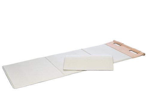 Leather fitness mat, Prestige By CUATROFITNESS