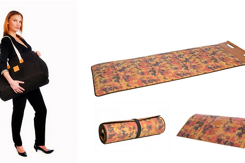 Pack Cork fitness mat colors by CUATROFITNESS