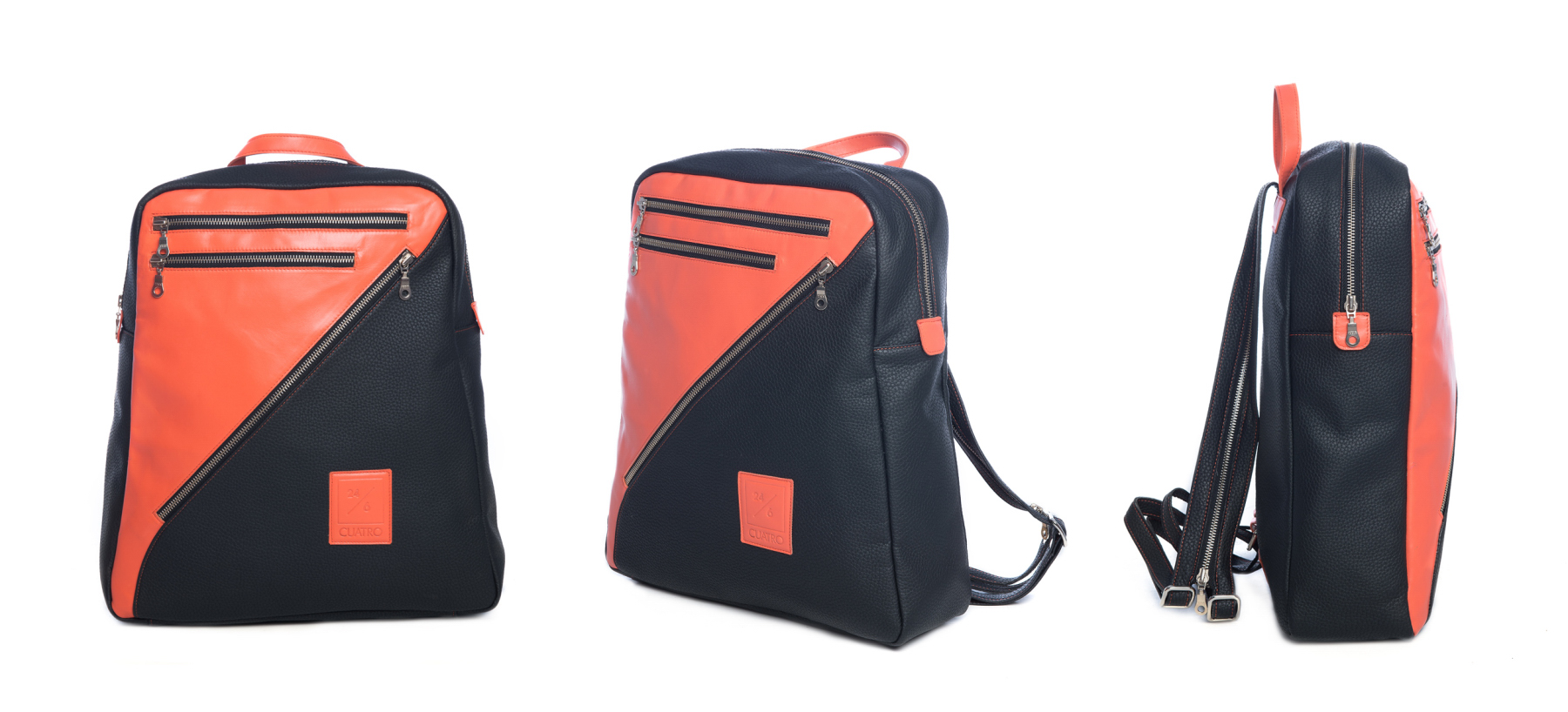 BACKPACK LEATHER CUATROFITNESS