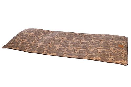 Cork Yoga mat camouflage by CUATROFITNESS