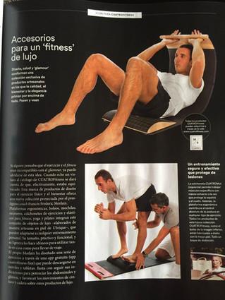 CUATROFITNESS is featured in ICON SPORT Magazine (Spain)