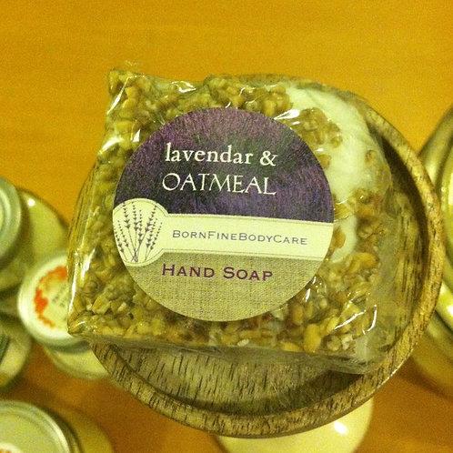 Lavender Oatmeal Bath Soap