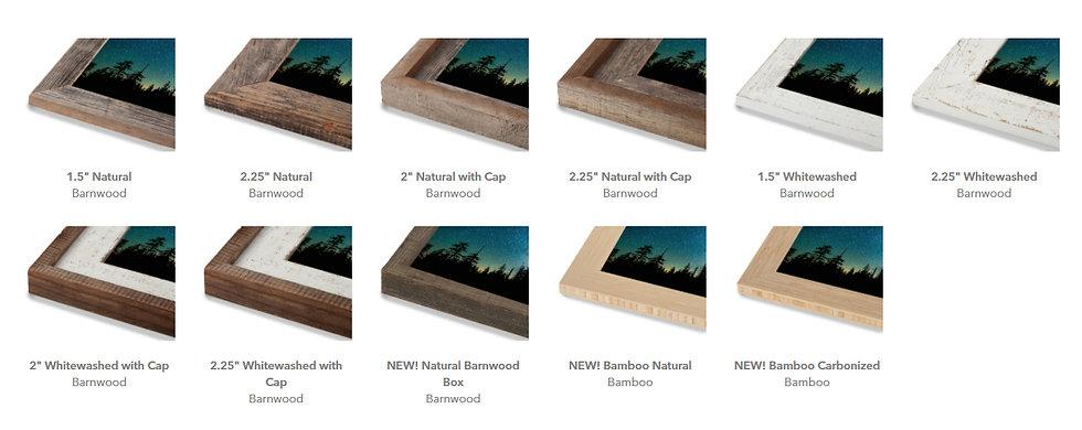 Barn wood and bamboo close up frames.jpg
