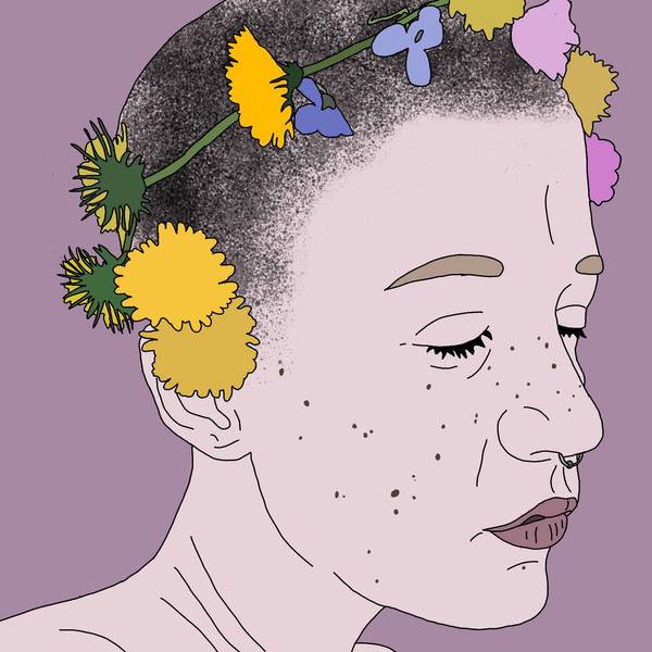 Dandelions and Pansies