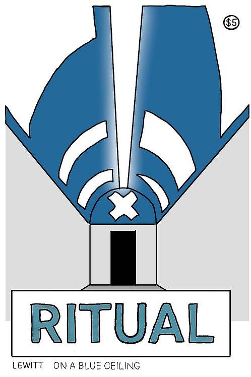 """ritual"" printable pocket zine"