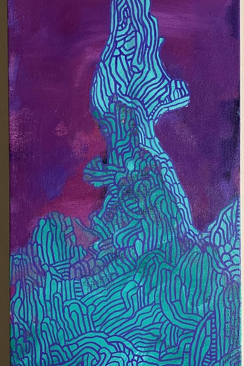 """untitled"" original canvas painting"