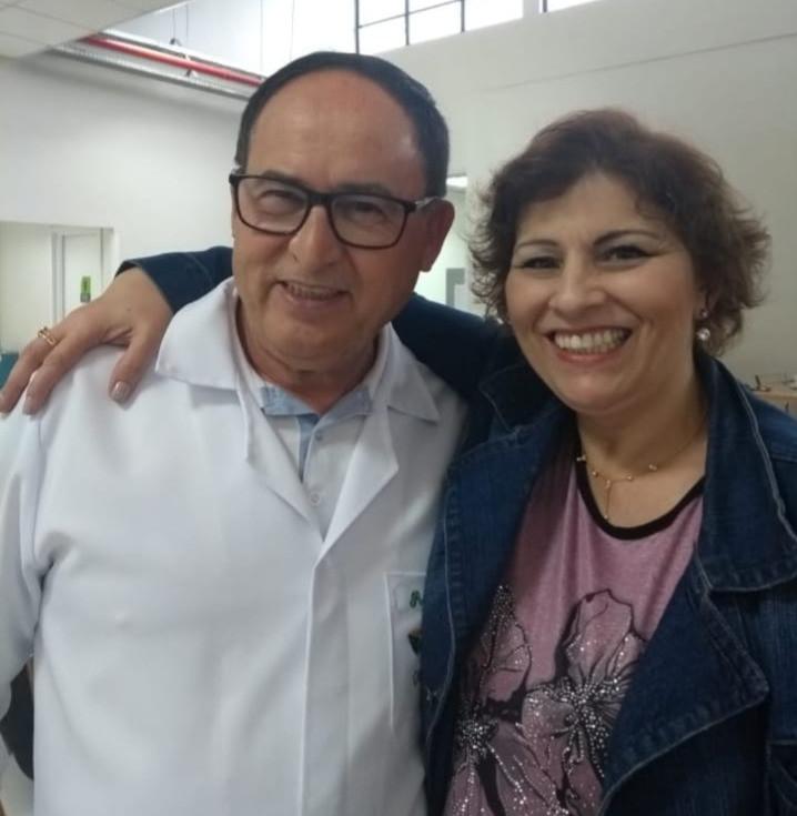 Com o professor Nilo