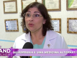 MR Quiropraxia no Band Mulher