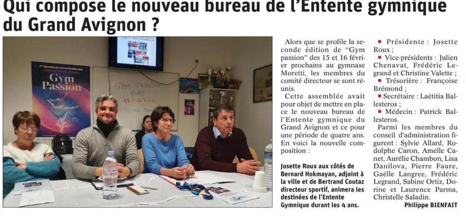 Le Dauphiné 7/01/2020