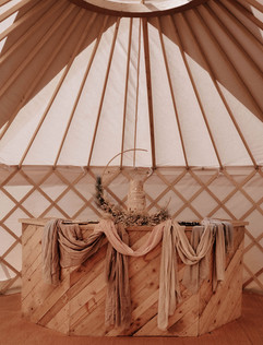 18ft Yurt Hire In Yorkshire