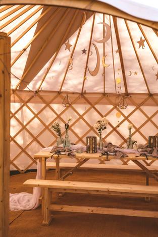 Celestial Shoot in 18ft Yurt