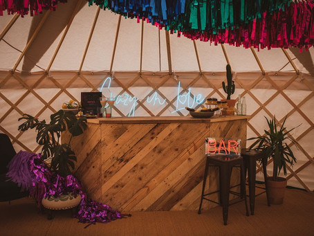 Fancy hosting a festival yurt party in your back garden...?