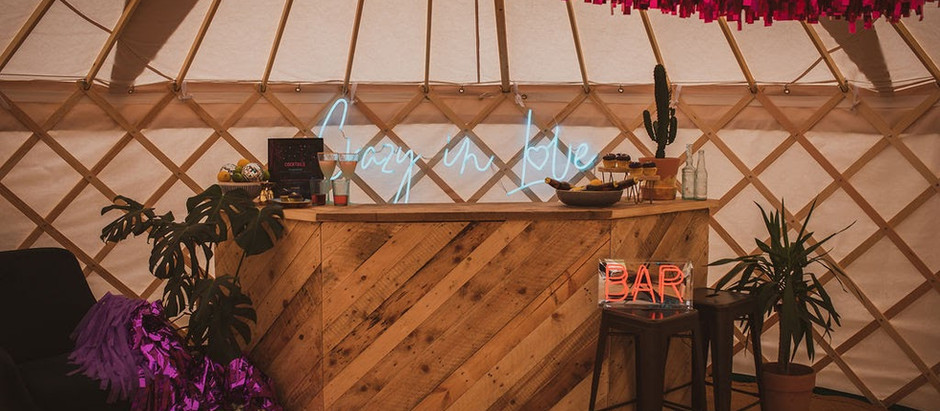 Fancy hosting a festival yurt party in your back garden...?