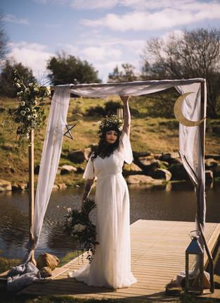 Yorkshire Bride in Outdoor Wedding