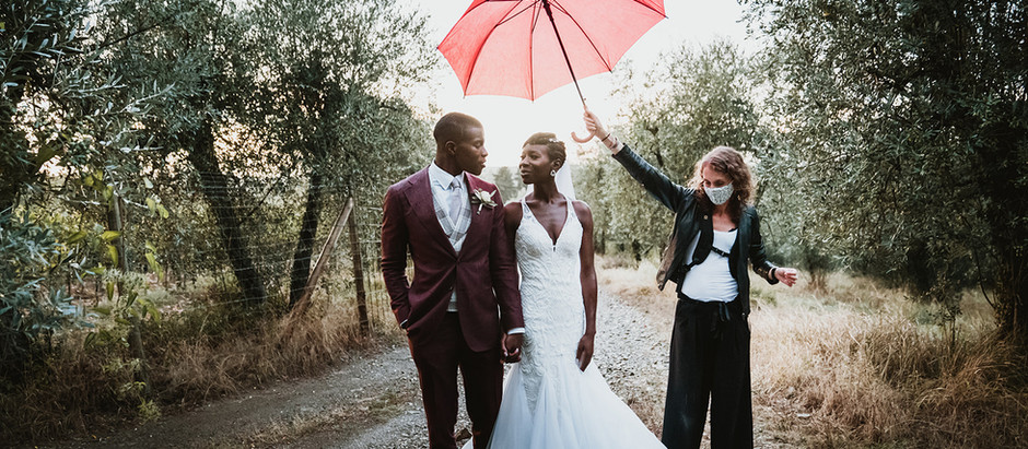 Dealing with rain on your wedding day