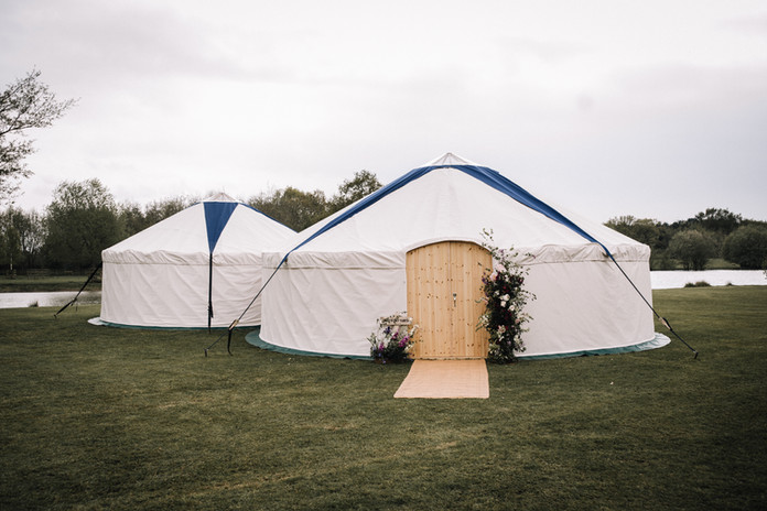 Podded Yurts for Hire in Yorkshire