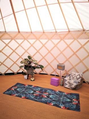 Yoga Retreat in Yurt Yorkshire