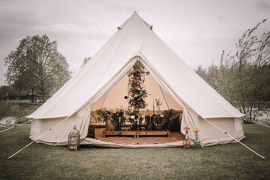 Bell Tent Glamping Village in Yorkshire
