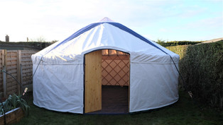18ft Yurt for Hire in Yorkshire
