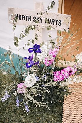 North Sky Yurts Flowers
