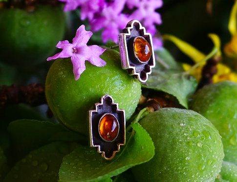 Basilica Earring with Citrine