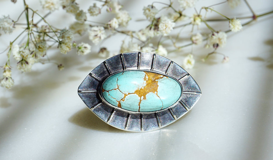 Ojo Ring with Turquoise