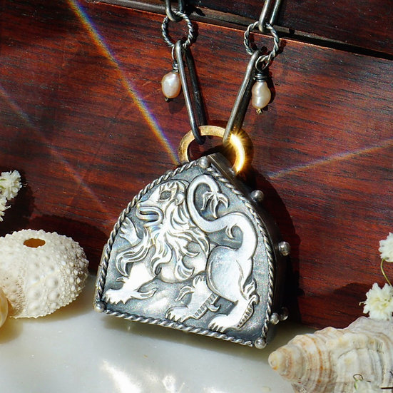 Something in the Distance Locket Necklace