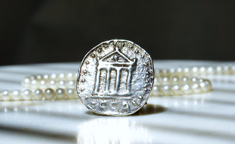 Temple of Delphi Ring