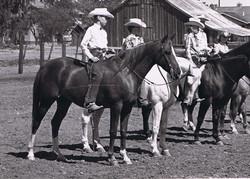 El Caballo & Kim Cantrell in the Bareback Equitation Class