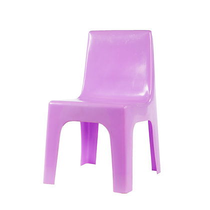 Kiddies Plastic Jolly Chair Lilac
