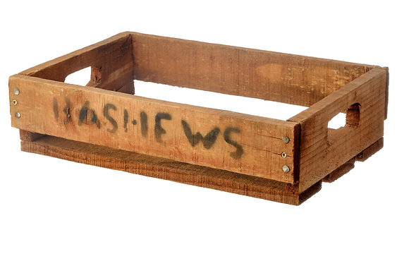 Wooden Bashews Crate Medium