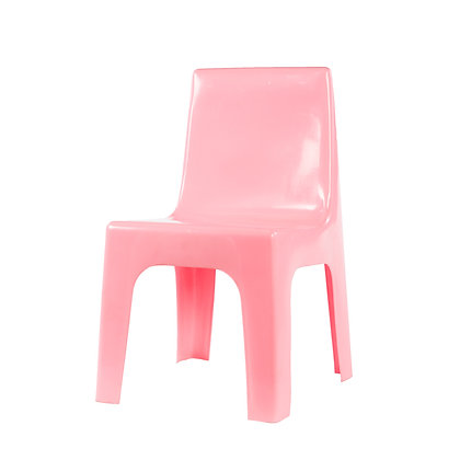 Kiddies Plastic Jolly Chair Pink