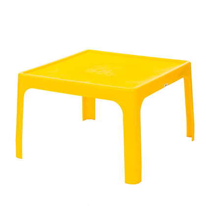Kiddies Jolly Table Square Yellow