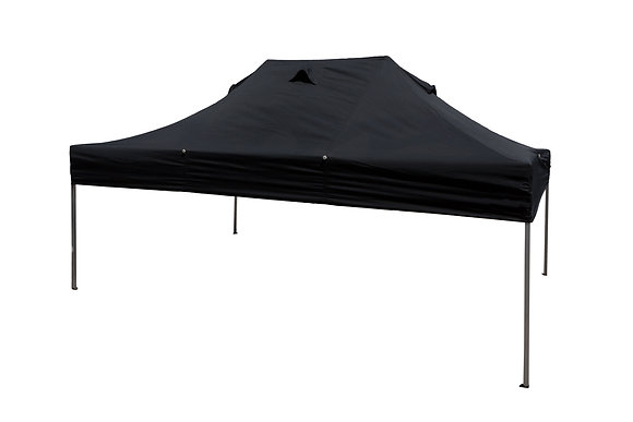 Black Gazebo 4100mm x 2800mm