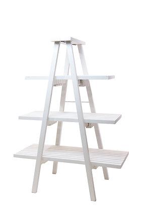 Distressed Ladder Display Shelf