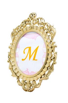 Gold Hanging Mirror