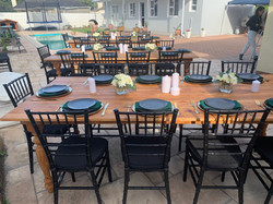 Birthday Dinner Special Events Hiring