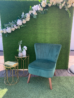 Grass Backdrop Special Events Hiring