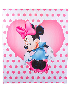 Birthday Banner Minnie Mouse Pink