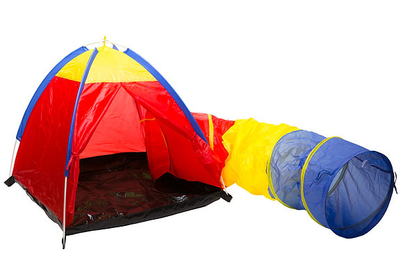 Kiddies Tent with Tunnel