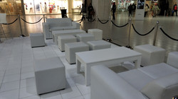 Mall Activation White Furniture Special Events Hiring