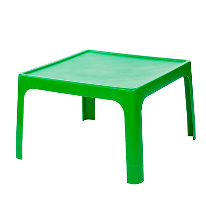 Kiddies Jolly Table Square Green