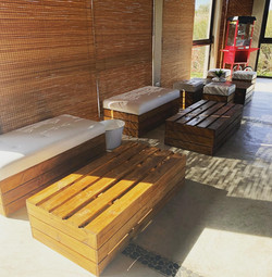 Wood Furniture Special Events Hiring