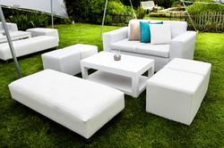 White Lounge Pocket