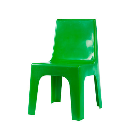 Kiddies Plastic Jolly Chair Green